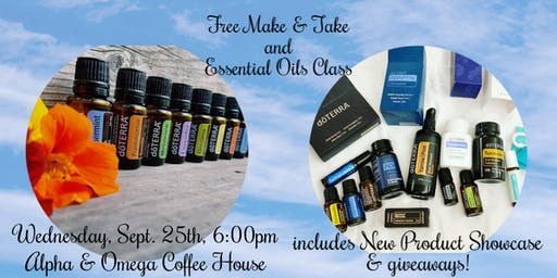 Free Make & Take and Essential Oils Class