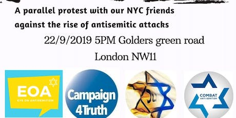 Jews Fight Back - Stop Antisemitism tickets