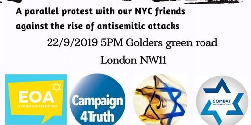 Jews Fight Back - Stop Antisemitism