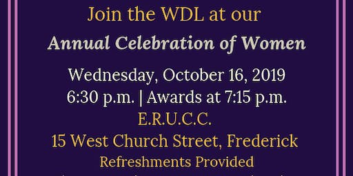 Annual Celebration of Women of Frederick County