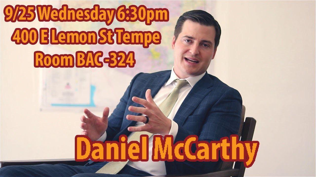 Daniel McCarthy for Senate