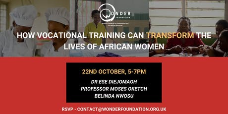 How Vocational Training can Transform the Lives of African Women tickets