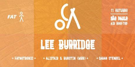 OCA apresenta: Lee Burrigde ingressos