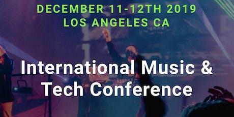 International Music & Tech Conference  tickets