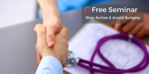 Reduce Pain & Avoid Surgery: Discover Surgery Alternatives Sept 28
