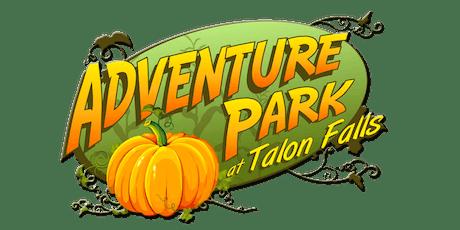 Talon Falls Adventure Park 2019 tickets