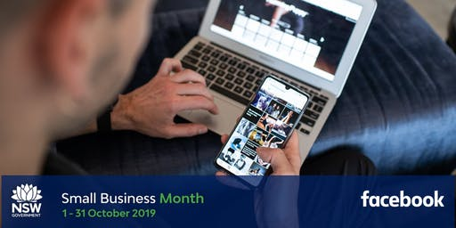 NSW Small Business Month - Boost with Facebook - Tamworth