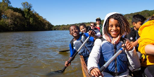 Family after school Canoe adventure with Wilderness Inquiry