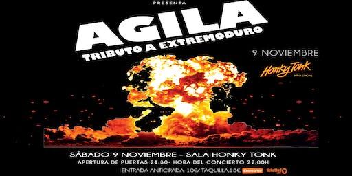Agila - Tributo a Extremoduro en Honky Tonk