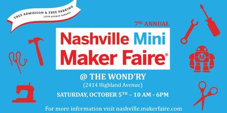 Nashville Makers Faire tickets