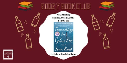 October Boozy Book Club