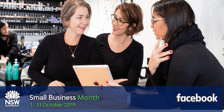 NSW Small Business Month - Boost with Facebook - Orange tickets