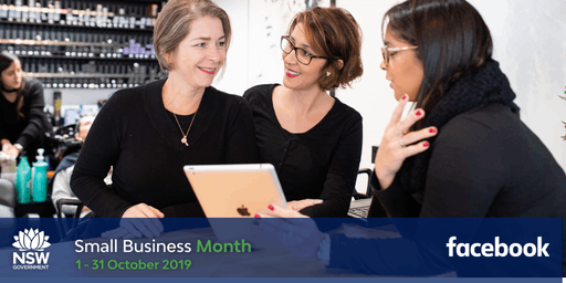 NSW Small Business Month - Boost with Facebook - Orange