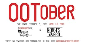 Opera on Tap at Rory's Tavern - OOTober 2019