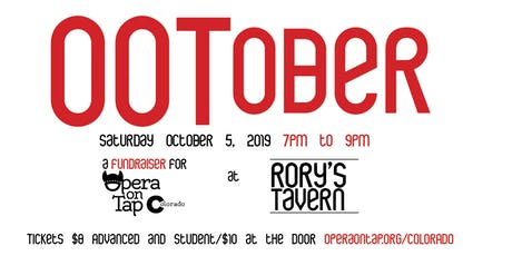 Opera on Tap at Rory's Tavern - OOTober 2019 tickets