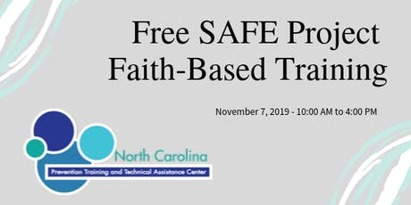 SAFE Project Faith-Based Training tickets