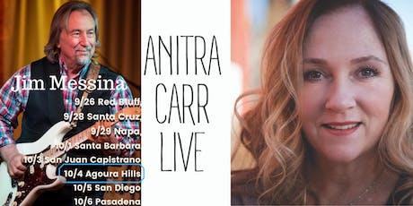 Jim Messina, Anitra Carr at The Canyon - Agoura Hills Fri 10/4  Doors tickets
