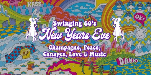 Swinging 60's New Years Eve at Memsahib Cheltenham - Champagne and Canapés