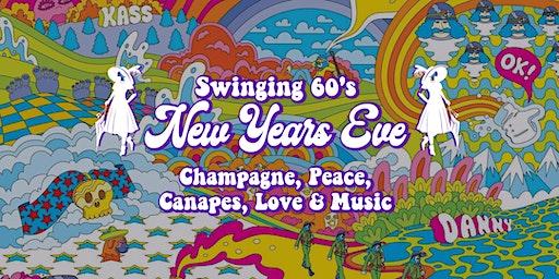 Swinging 60's New Years Eve at Memsahib Cheltenham - Champagne and Canapés