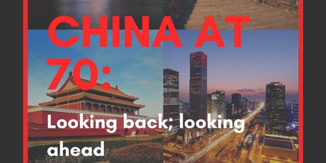 China at 70: Looking back; looking ahead tickets