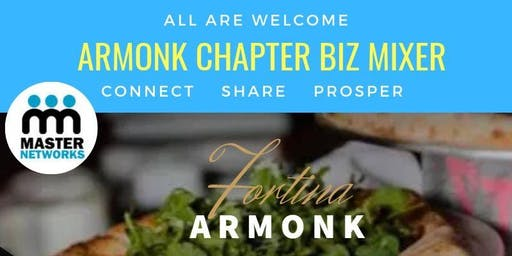 Armonk Biz Networking Mixer with a Twist!