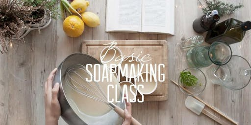 Cold Process Soap Making Class & Workshop