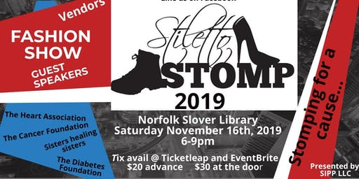 Stiletto Stomp-Stomping for a Cause...Stepping for a Cure!