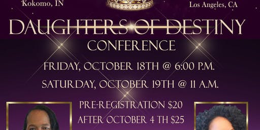 Daughter of Destiny Conference