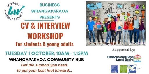 CV & Interview Prep Workshop (for students & young adults)
