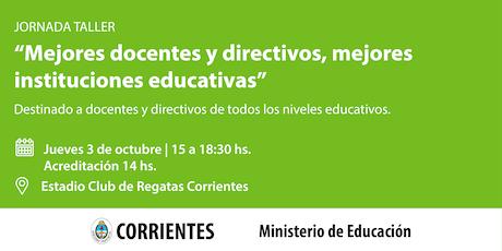 Mejores docente y directivos, mejores instituciones educativas entradas