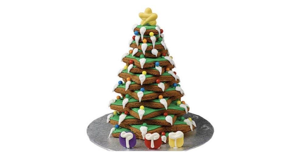 Gingerbread Christmas Tree.Gingerbread Christmas Tree Decorating Workshop