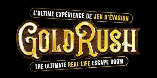 Montréal Soirée de clôture GOLD RUSH Finale Party