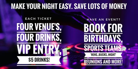 Brisbane Fortitude Valley Pub Crawl tickets