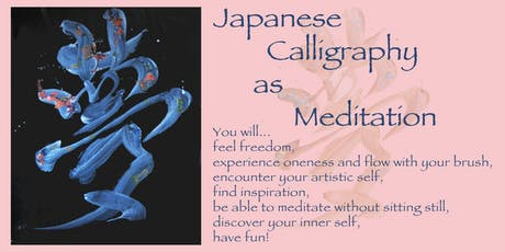 Japanese Calligraphy as Meditation tickets