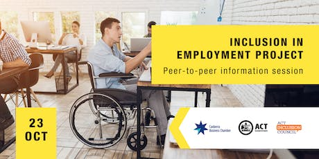 Inclusion in Employment Project - Peer to Peer Information Session. tickets