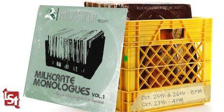 TST Presents: Milkcrate Monologues tickets