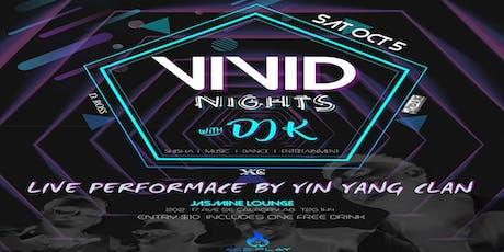 Vivid Nights tickets