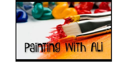Painting with Ali (2019-10-15 starts at 11:30 AM)
