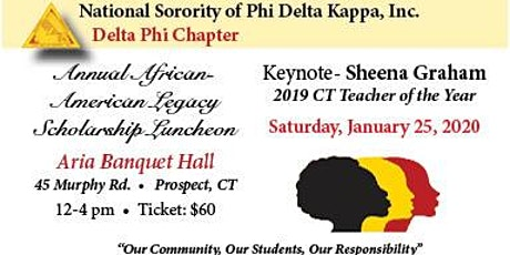 Annual African American Legacy Scholarship Luncheon tickets