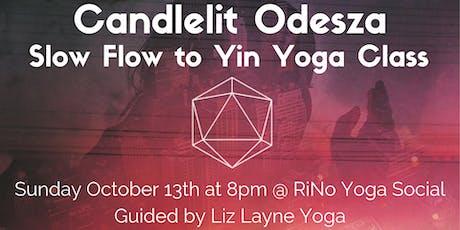 Candlelit Odesza Slow Flow to Yin Yoga Class w/ Liz Layne tickets