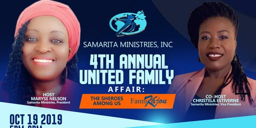 SAMARITA MINISTRIES 4TH ANNUAL UNITED FAMILY AFFAIR