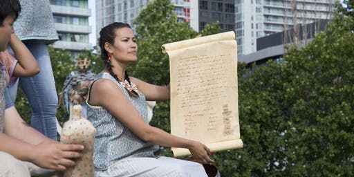 Talking Treaties with Jumblies and Ange Loft: Text and Image