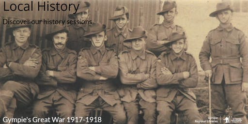 Local History Talk - Gympie's Great War