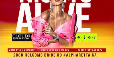 Oct 5th #Cloud9ATL  Friday's We Come ALIVE!!!  Best Party In #Alpharetta