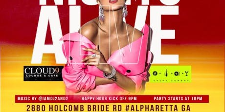 Oct 5th #Cloud9ATL  Friday's We Come ALIVE!!!  Best Party In #Alpharetta tickets