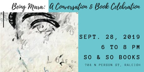 """Being Mara"": A Conversation and Book Celebration tickets"