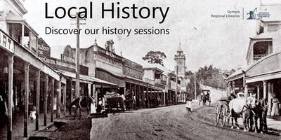 Local History Talk - Shops