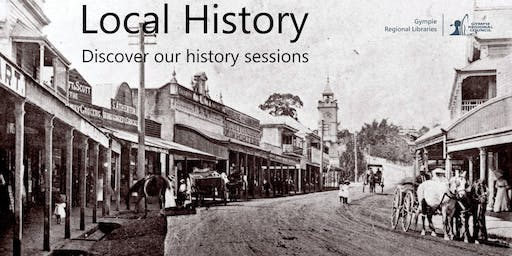 Local History Talk - Shops