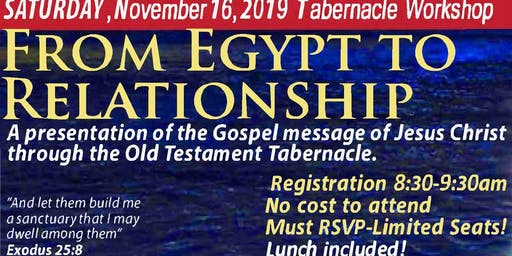 Tabernacle Workshop 2019