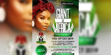 Nigerian independence Ankara party tickets